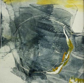 Abstract painting by artist Jilly Cobbe