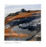 Abstract Landscape Painting inspired Bodmin Moor by Artist Jilly Cobbe